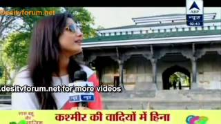 Hina Khan trip to Kashmir with SBS-Part 1