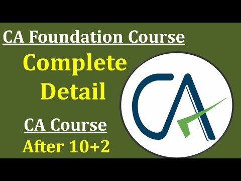 CA Foundation How to Register Online    Eligibility    Course Fee    Subjects    Complete Procedure