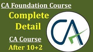 CA Foundation How to Register Online || Eligibility || Course Fee || Subjects || Complete Procedure