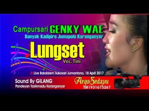 LUNGSET Campursari Dangdut Koplo Terbaru 2017 Genky Wae Live Sukosari Jumantono