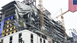 Half-built Hard Rock Hotel collapses in New Orleans - TomoNews