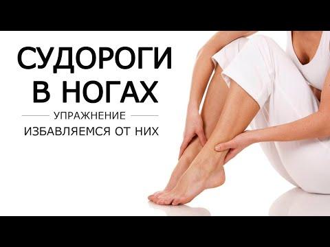 Судороги в ногах - избавляемся от них используя теннисный мячик и ремень.