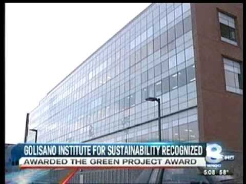 RIT on TV: Golisano Building honored News 8