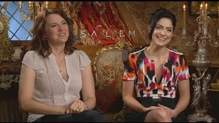SALEM: Lucy Lawless and Janet Montgomery Talk Season 2, Play the Autoharp on Set
