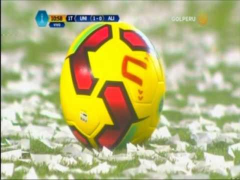 Universitario de Deportes 3 - 0 Alianza Lima (Primer tiempo) 15-04-17