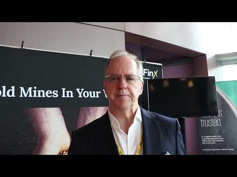 GoldFinX's COO : interview with Francois Dumont, in Hong Kong Blockchain Summit 2019