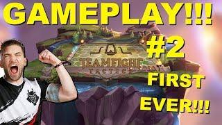 TEAMFIGHT TACTICS GAMEPLAY! [SECOND VIDEO] League of Legends