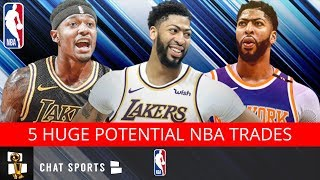 5 Huge NBA Trades That Could Completely Alter The 2019 NBA Draft