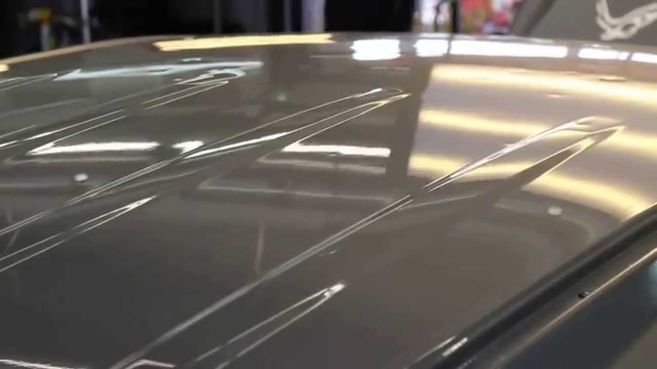 Repairing A Hail Damage Dent On An Suv Roof In 15 Seconds