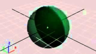 вращение шара в четырёхмерном пространстве