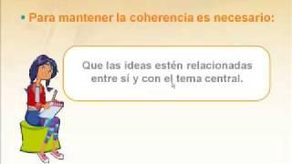 COHERENCIA EN EL TEXTO 6º PRIM Y 1º SEC