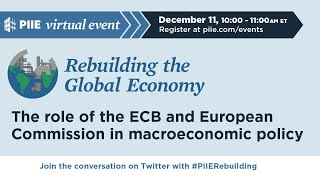 Rebuilding the Global Economy: Role of the ECB and European Commission in macroeconomic policy