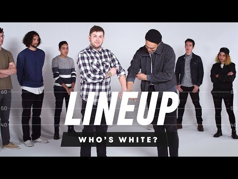 People Guess Who is White In a Group of People - Lineup
