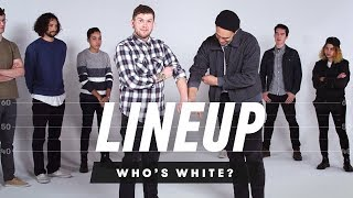 People Guess Who is White In a Group of People | Lineup | Cut