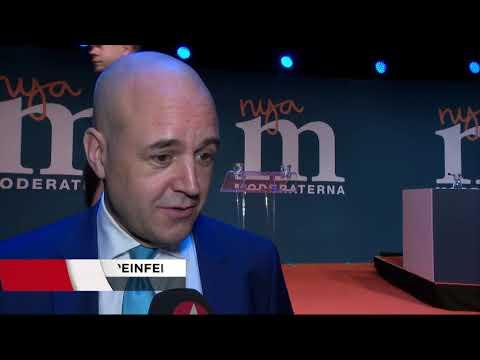 Ulf Kristersson vald till ny (M)-ledare - Nyheterna (TV4)