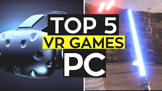 TOP 5 UPCOMING PC VR Games! 2016/2017
