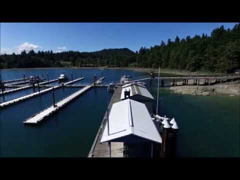 Telegraph Harbour Marina, Thetis Island BC, Canada