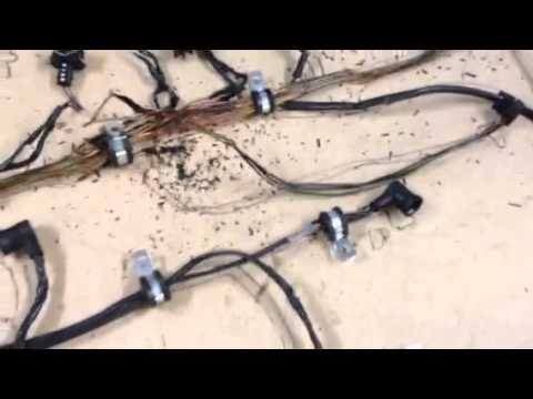 Mercedes E-Cl W124 Wiring Loom (Part 1) - YouTube on ford oem wire harness replacement, ignition cylinder replacement, brake switch replacement, safety harness replacement, brake pads replacement,