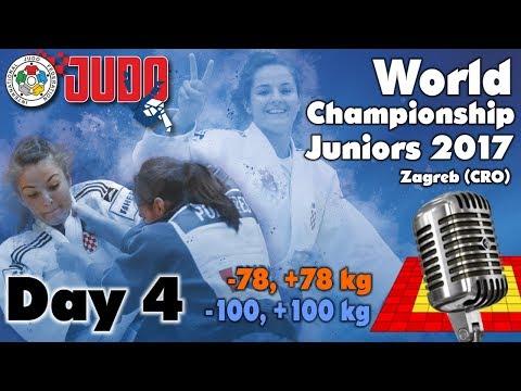 World Judo Championship Juniors 2017: Day 4