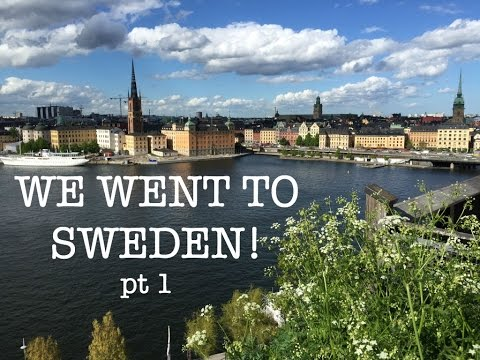 Two Families Travel Sweden and Norway pt 1