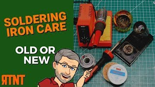 How To Tin A Soldering Iron Tip