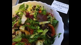 Свежий салат с артишоками и кедровыми орешками: рецепт от Foodman.club