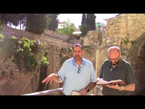 Pool Of Bethesda In Jerusalem