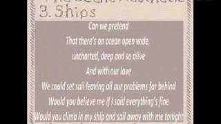 The Scene Aesthetic - Ships (lyrics) (from The Days Ahead)