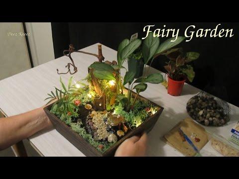 ASMR Magical Crystal Fairy Garden
