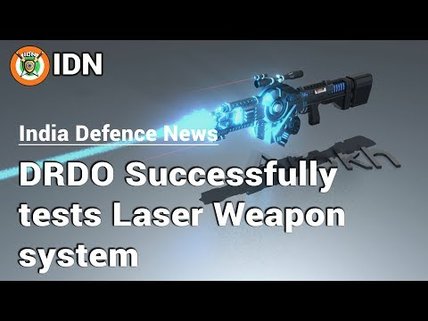 DRDO successfully tests Laser weapon system | India Defence News