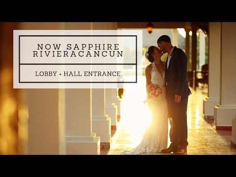 now-sapphire-riviera-cancun-walkthrough---photo-tour---lobby-+-hall-entrance