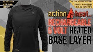 Product Review - Action Heat Shirt for Golfers