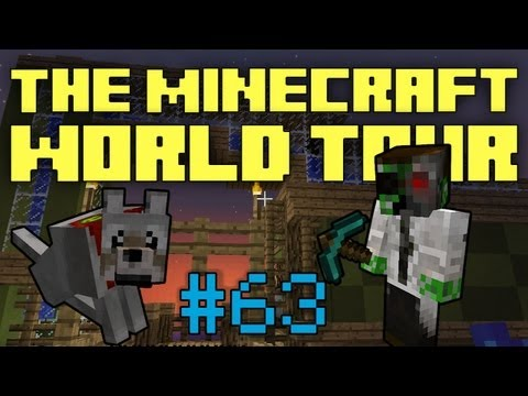 The Minecraft World Tour - #63: Infinite Emeralds & Terracotta Houses
