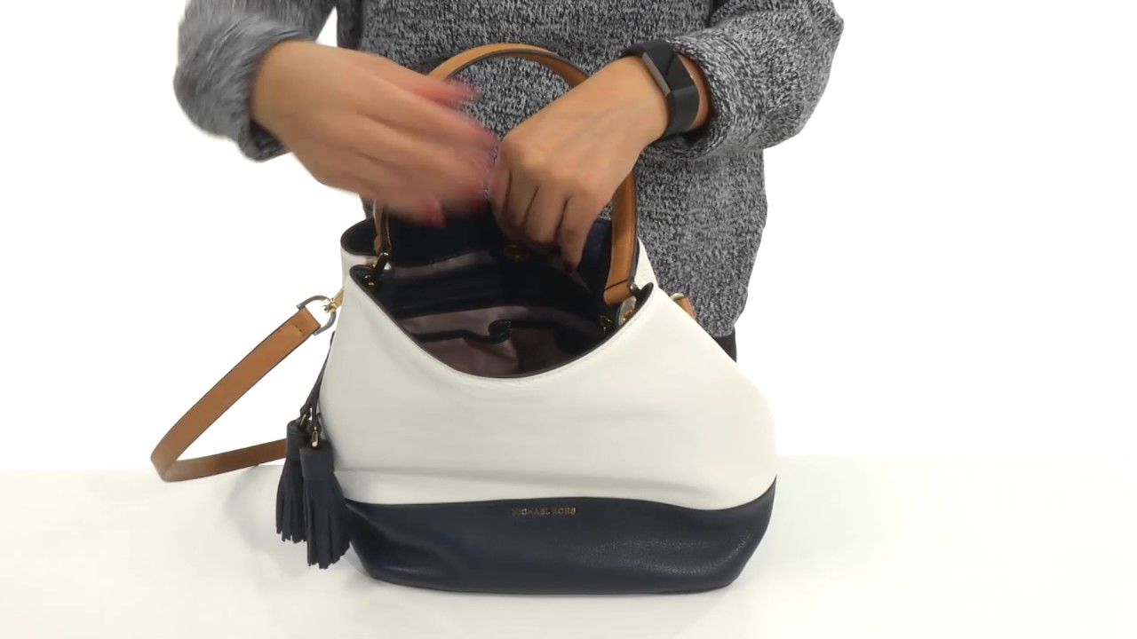 7e2b6c37568c MICHAEL Michael Kors Kip Large Bucket Bag SKU:8834841 - YouTube