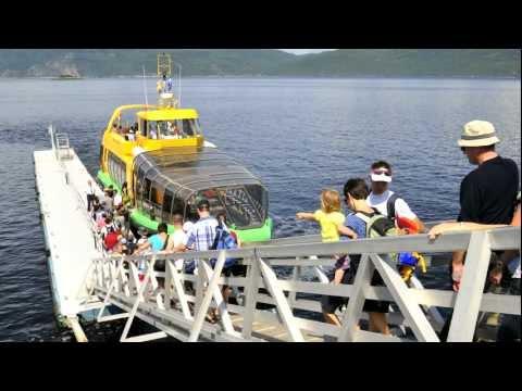 Navette maritime du fjord - Lauréat national Or «services touristiques»