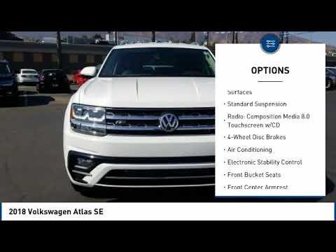 2018 Volkswagen Atlas Corona CA V8740