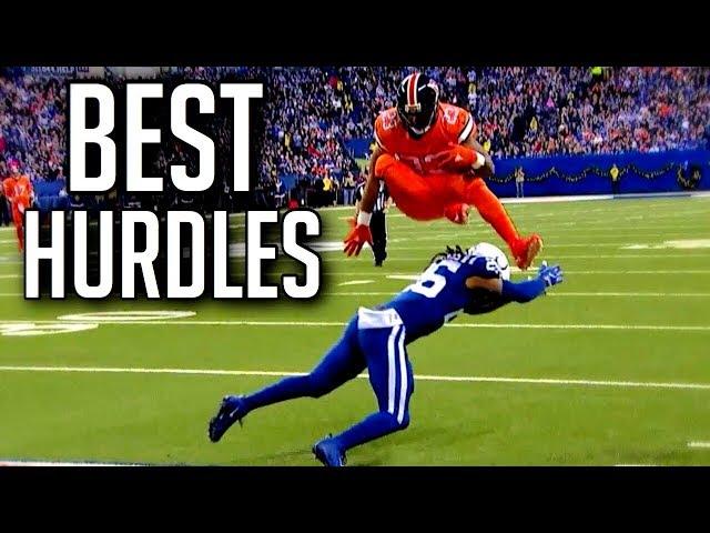 Best Hurdles In Football History    HD