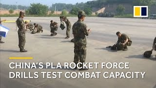 China's PLA Rocket Force drills test combat capacity