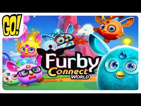 Furby Connect World Играем С Фербиками в Новом Виртуальном Мире #BKА Летсплей