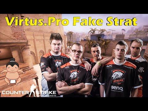 CS:GO - Virtus.Pro Fake Strat de_mirage