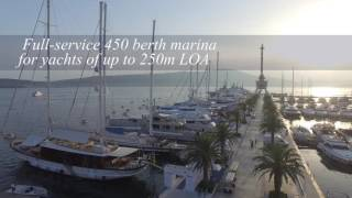 Porto Montenegro marina and luxury village