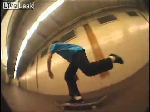 Subway Skating - NYC 2011