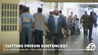 CA lawmakers could trim prison sentences for repeat non-violent offenders | ABC7