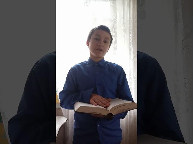 Изображение предпросмотра прочтения – ОлегБлизниченко читает произведение «Берёза» С.А.Есенина