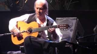 Paco de Lucia - Entre dos aguas - último concierto / last concert (Chile, 23 de noviembre de 2013)