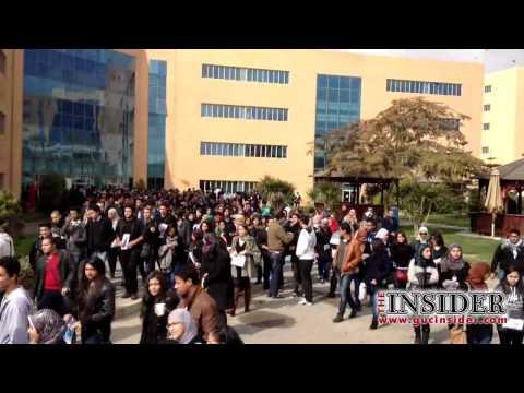 Biggest Crowd in GUC History أكبر تجمع في تاريخ الجامعة الألمانية