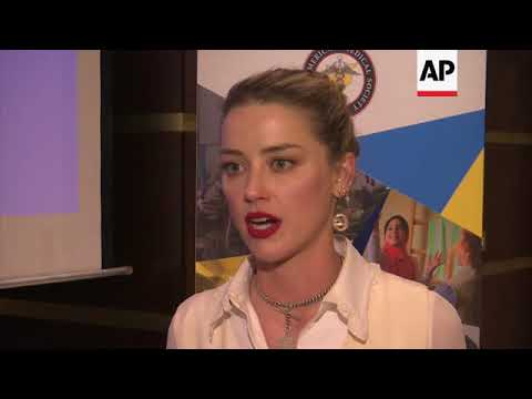 Amber Heard says meeting Syria refugees left a mark on her soul