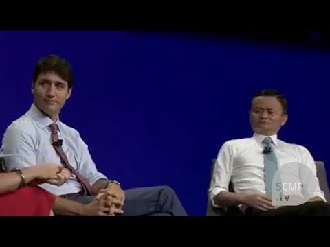 When Jack Ma met Justin Trudeau in Toronto