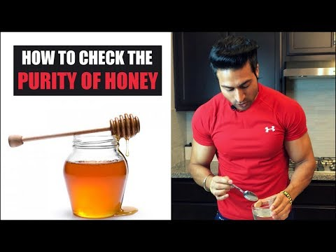 How to check the Purity of HONEY & it's benefits by Guru Mann