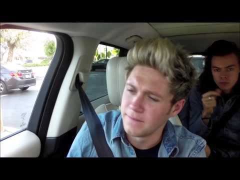 One Direction - No Control Carpool Karaoke HD